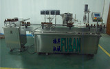 上海圣刚供应四头灌装口服液轧盖机 口服液灌装压盖机