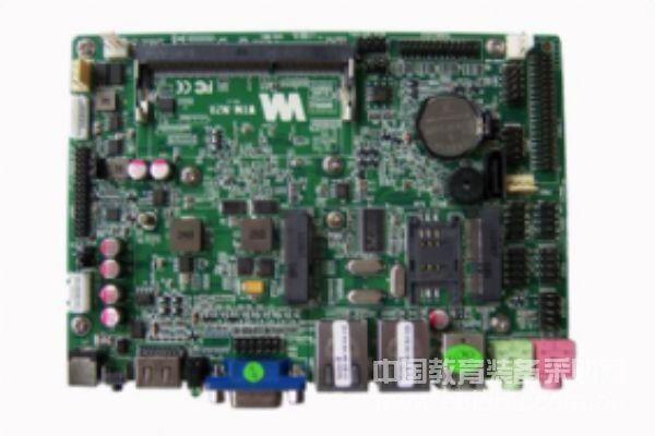 3.5寸無風扇工控主板,雙網卡,支持VGA+HDMI,支持MSATA