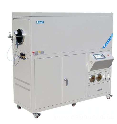 河南成仪实验室设备 实验室专用1100度大口径真空管式炉