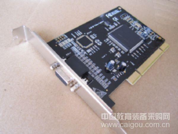 众禾时代 HV6404SF 安防监控PCI 4路采集卡 支持Win7 64位