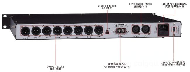 信号分配器  SP-8802