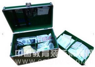 綠色鋁制箱體/急救箱|工廠學校實驗室急救箱  產品貨號: wi107121