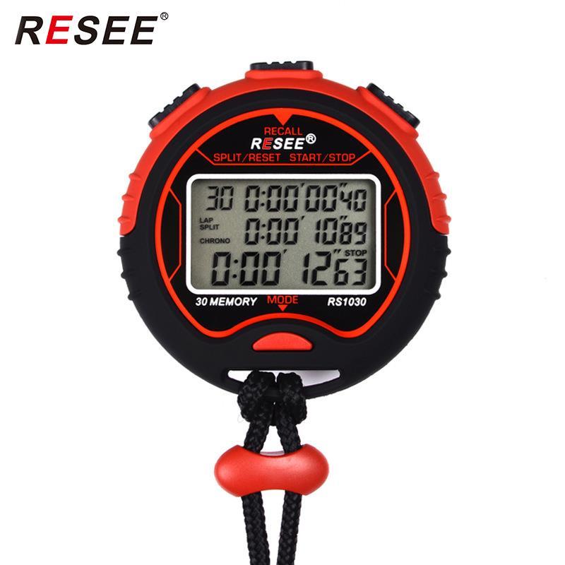 廠家直銷多道秒表 防水計時器圓形健身碼表 裁判計時器生產批發
