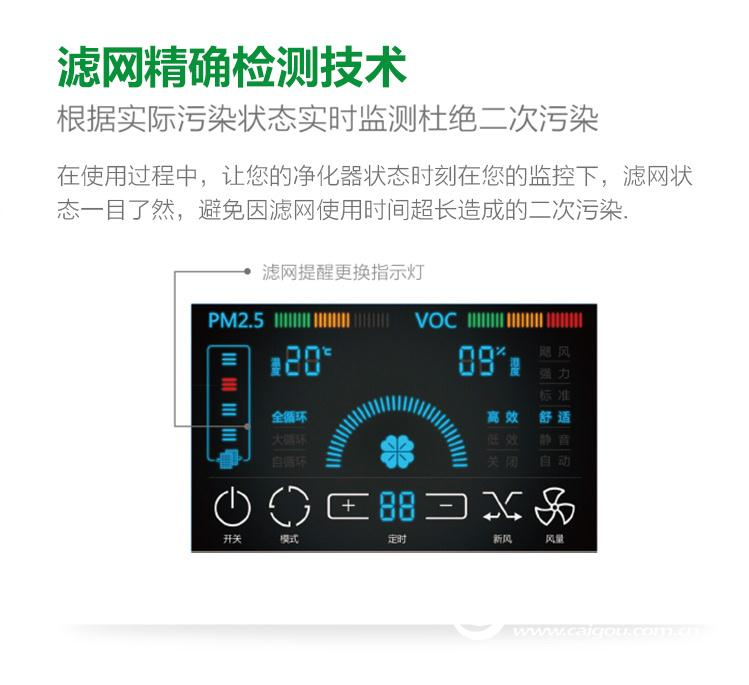 米微新风空气净化器