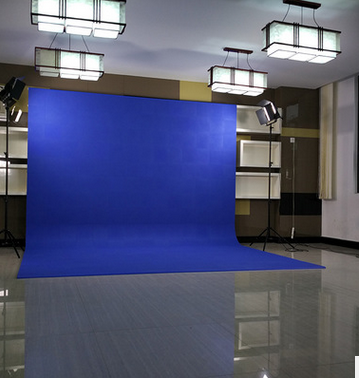 昱陽免漆型拼接式虛擬摳像藍箱微課校園電視臺