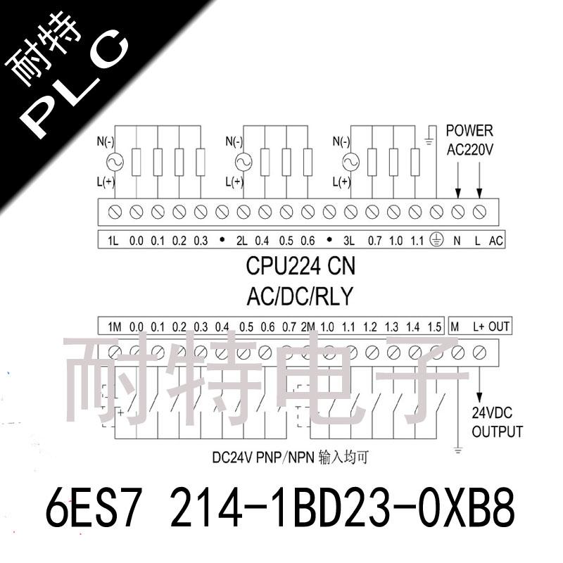 耐特PLC,6ES7 214-1BD23-0XB8,控制灵活