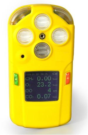 恒奥德仪价  矿用五合多参数气体检测报警仪