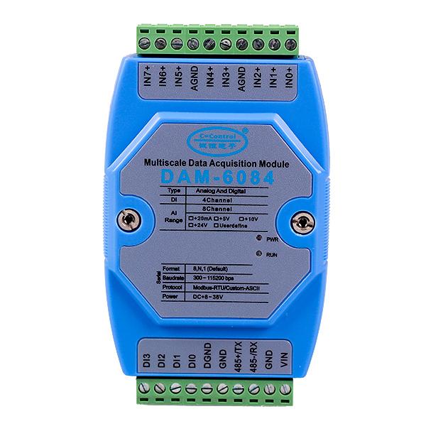 8路ad转换器模拟量输入模块用于自动化仓储系统
