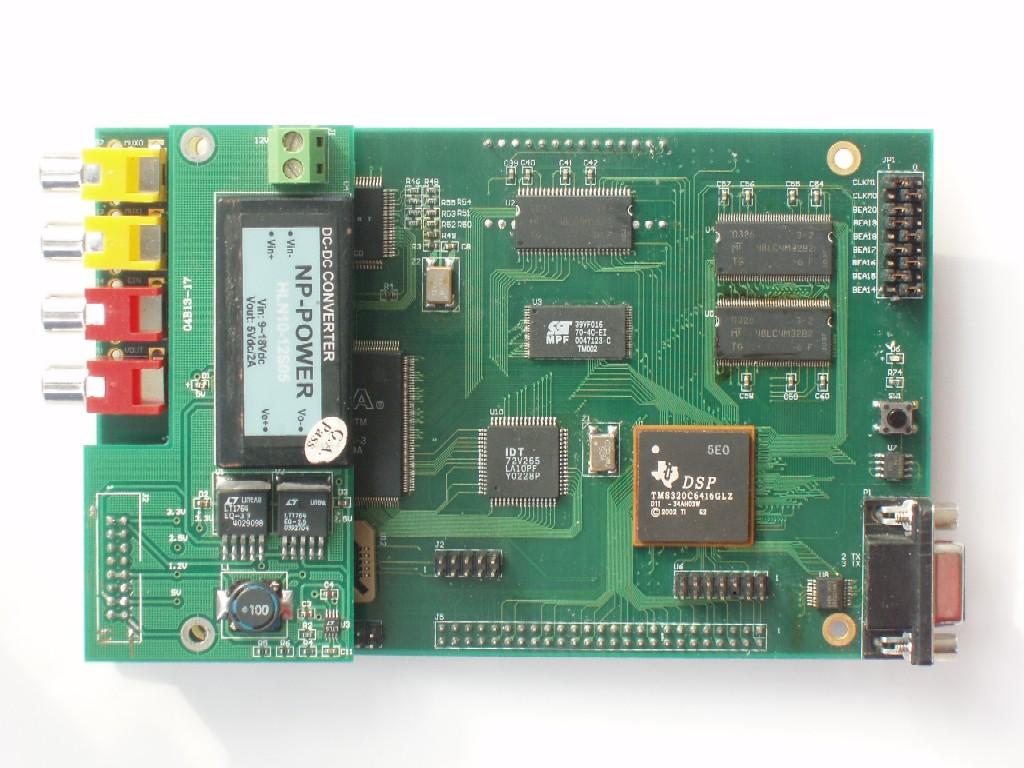 CY-EVM6416图象处理板