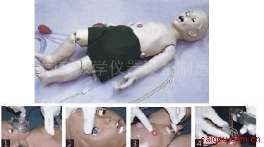 KAD/FT332全功能一岁儿童高级护理及CPR模拟人