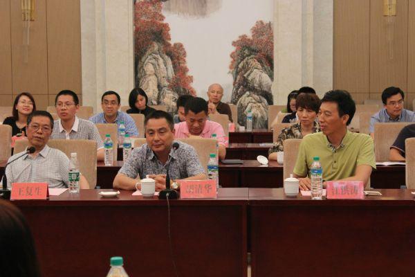 中赢科技出席抚州市政府经贸洽谈会