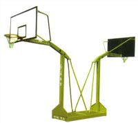 燕式槽鋼底座籃球架