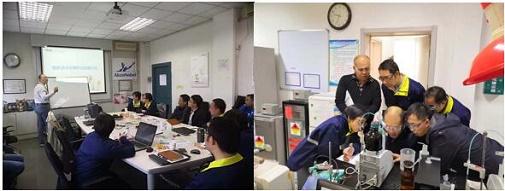 MCC售后服务无忧行动 ——走进天津阿克苏诺贝尔过氧化物有限公司
